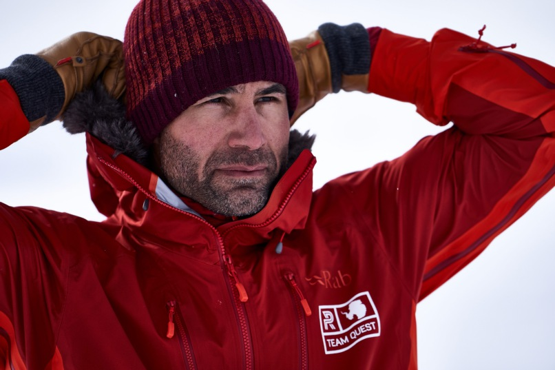 Antarctic expedition ends for Richard Parks