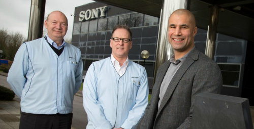 Richard's new role for Sony UK TEC