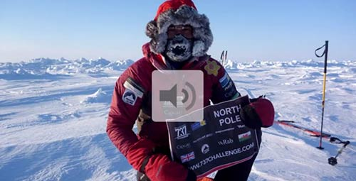 737 Challenge - Leg 6 interview with Rich from the North Pole