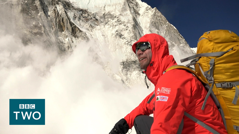 Richard Parks on Everest hits network BBC Two