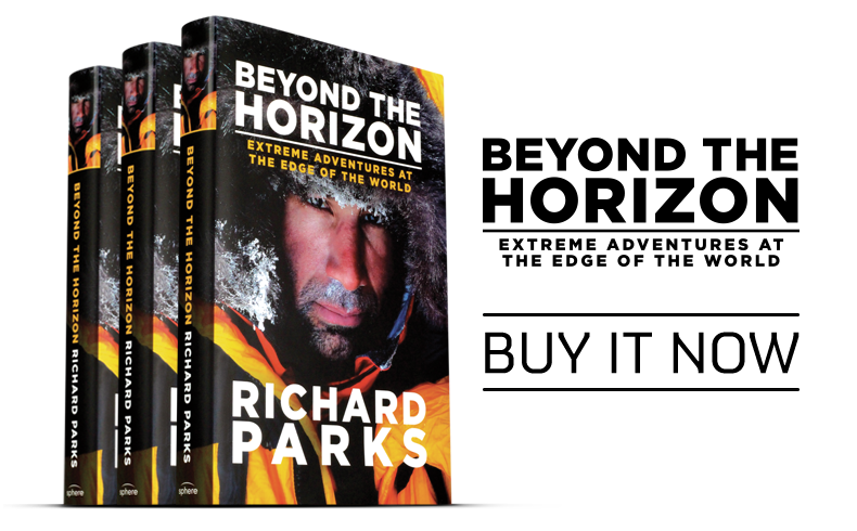 Richard Parks book - Beyond the Horizon