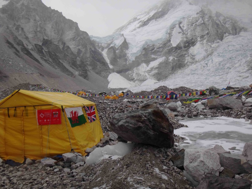 Project_Everest_Cynllun_Tent_at_Base_Camp.jpg