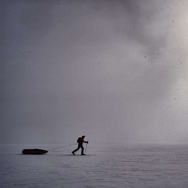 Greatest distance skied solo, unsupported and unassisted in Antarctica