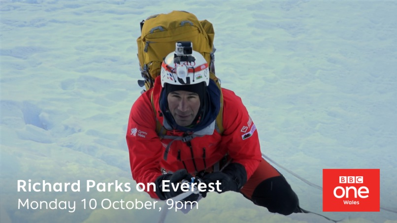 Richard Parks on Everest - 9pm Monday 10th October BBC One Wales