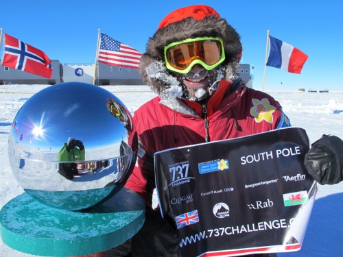 737 Challenge interview with Richard from the South Pole