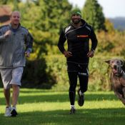 South_Wales_Argus_reporter_Chris_Wood_Richard_and_his_dog_Ben_-_pic_courtesy_of_Mark_Lewis_.jpg